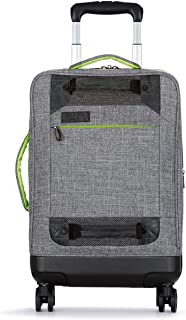 zipperless spinner luggage