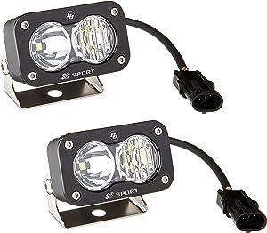 Baja Designs 54-47803 S2 Sport Pair Driving/Combo LED,1 Pack
