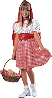 Rubies Riding Hood Girl Costume, Small, Red, 881066S