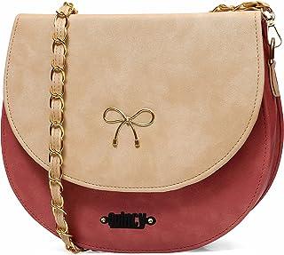 Quincy Women Sling Bag With Adjustable strap   handbag   purse  Side Sling bag   Tassel Sling Bag