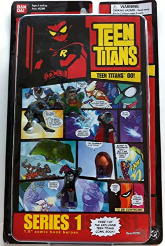 Teen Titans Series 1 1.5 Comic Book Heroes