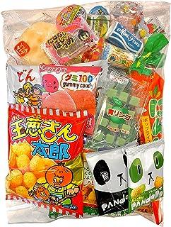 Samurai Dagashi Set, Japanese Snack Assort 30pcs, 11.90oz/336g