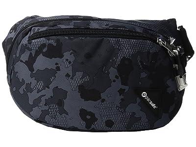Pacsafe Vibe 100 Anti-Theft Hip and Crossbody Pack (Grey Camo) Cross Body Handbags