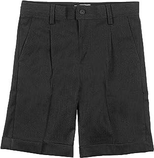 Minime Pantalones Cortos Gris Oscuro con Dobladillo Vestir Colegio