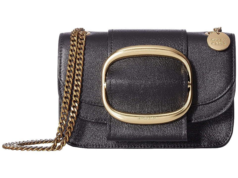 See by Chloe Hopper Small Crossbody (Black) Cross Body Handbags