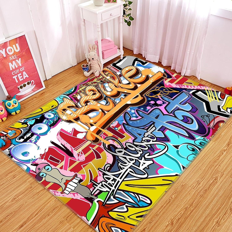 3D Graue Abstraktes 7 Rutschfest Teppich Raum Matte Runden Elegant Teppich DE