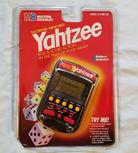 mejor opcion Electronic Handheld Yahtzee - - - Clear negro  sin mínimo