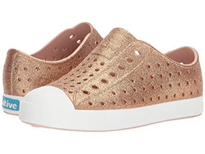 Native Kids Shoes Jefferson Bling Glitter (Little Kid) (Rose Gold Bling) Girls Shoes