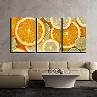 Tasty Lime slices Canvas Art Cheap Wall Print Home Interior