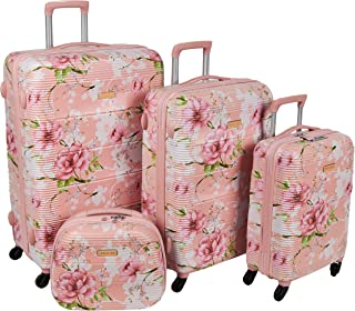 Magellan Trolly Luggage Set of 4 PCs PC632T4-4P-PINK