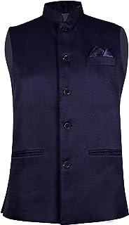 mens nehru jeckets waistcoat premium fabrics