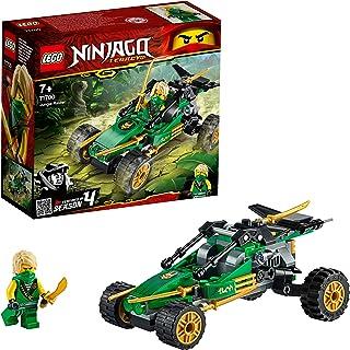 LEGO NINJAGO Legacy Jungle Raider Car with Lloyd Minifigure, Tournament of Elements Building Set - 71700
