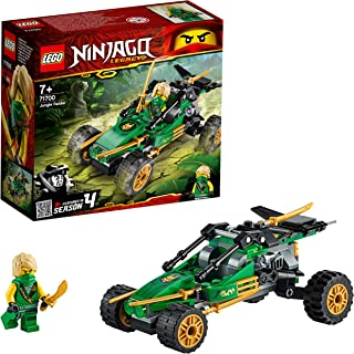 LEGO NINJAGO, Legacy Le buggy de la jungle, Voiture avec figurine de Lloyd, Set de construction, Le Tournoi des Éléments, ...