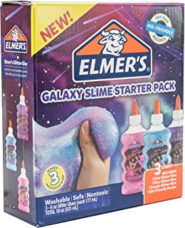 Elmer's Glue Deluxe Slime Starter Kit, Clear School Glue...