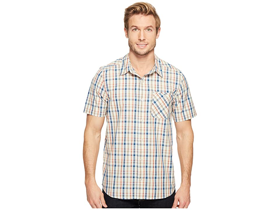 Toad&Co Ventilair Short Sleeve Shirt (Salt) Men