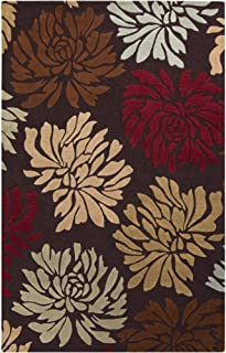 Surya Centennial CNT-1092 Hand Tufted 100-Percent Wool Floral and Paisley Accent Rug, 2-Feet by 3-Feet