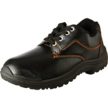 Tigre PVC Safety Shoes 8216154 Low Cut - Size 9, Black