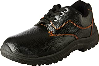 Tigre PVC Safety Shoes 8216154 Low Cut - Size 9, Black