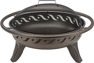 Landmann Grills Finish FireWave Fire Pit – braun metallic