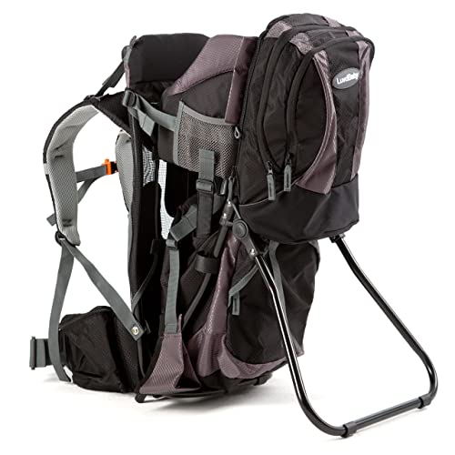 f43f881a370 Luvdbaby Premium Baby Backpack Carrier with Removable Backpack - 2 in 1 for  Hiking with Kids