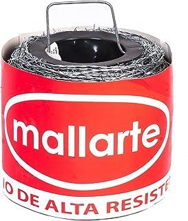 Alambre de espino galvanizado Mallarte 4/1.6/15 (250 mts