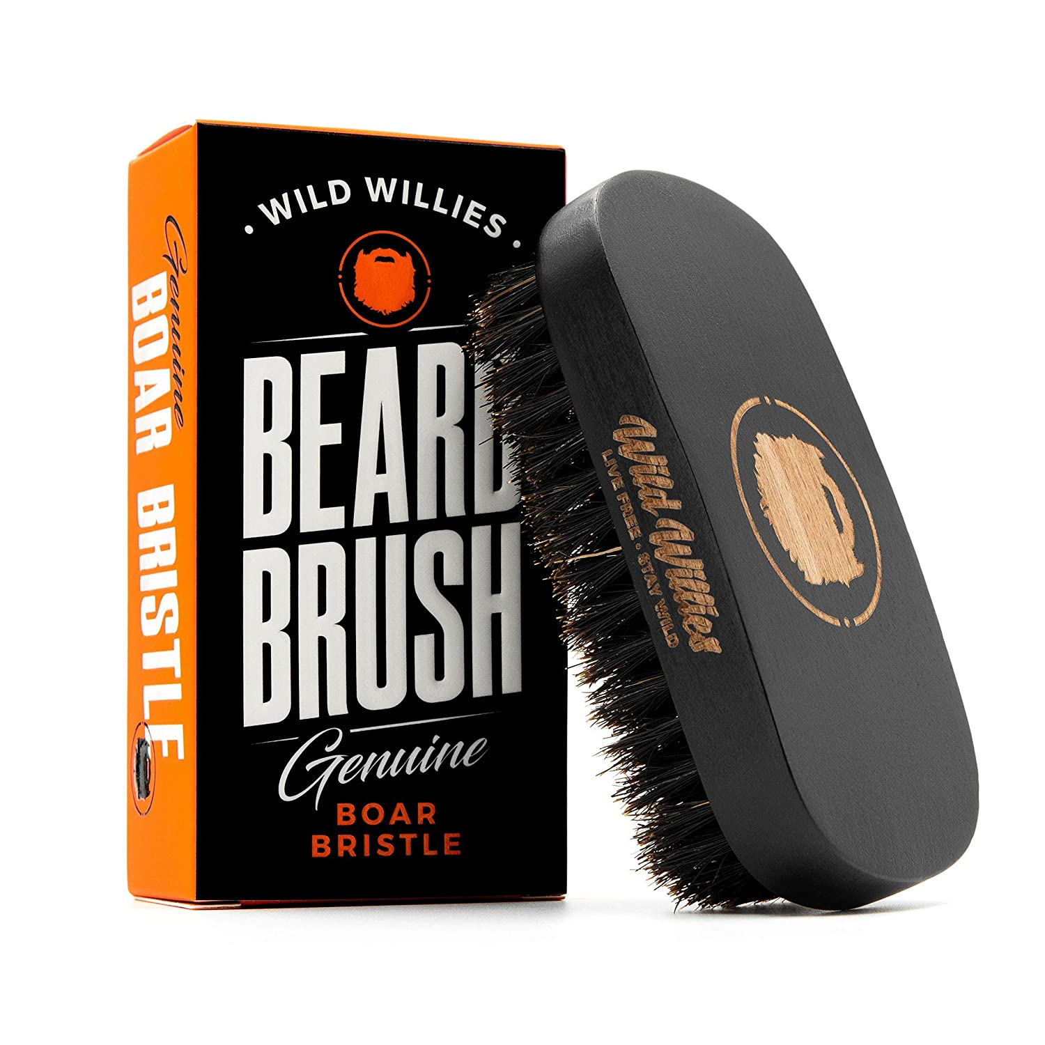 Wild Willies Beard Brush For Men. With for Boar Bristles Max 77% OFF Natural Las Vegas Mall