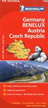 Michelin Germany Austria Benelux Czech Republic Map 719 (Maps/Country (Michelin))