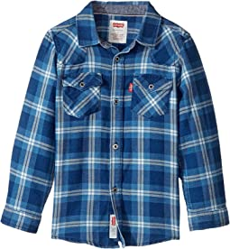 Barstow Plaid Western Shirt (Toddler)
