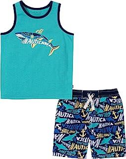 NAUTICA Sets (KHQ) Baby Boys' 2 Pieces Tank Top with Swim Shorts Set