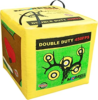 Morrell Double Duty 450FPS Field Point Bag Archery Target – for Crossbows,..