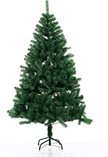 Beauty Life Christmas Tree Premium Artificial Christmas Pine Tree with Solid Metal Legs&Tree Skirt&Manual Instruction – G-5' (150cm)