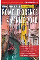 Frommer's EasyGuide to Rome, Florence and Venice 2020 Kindle Edition