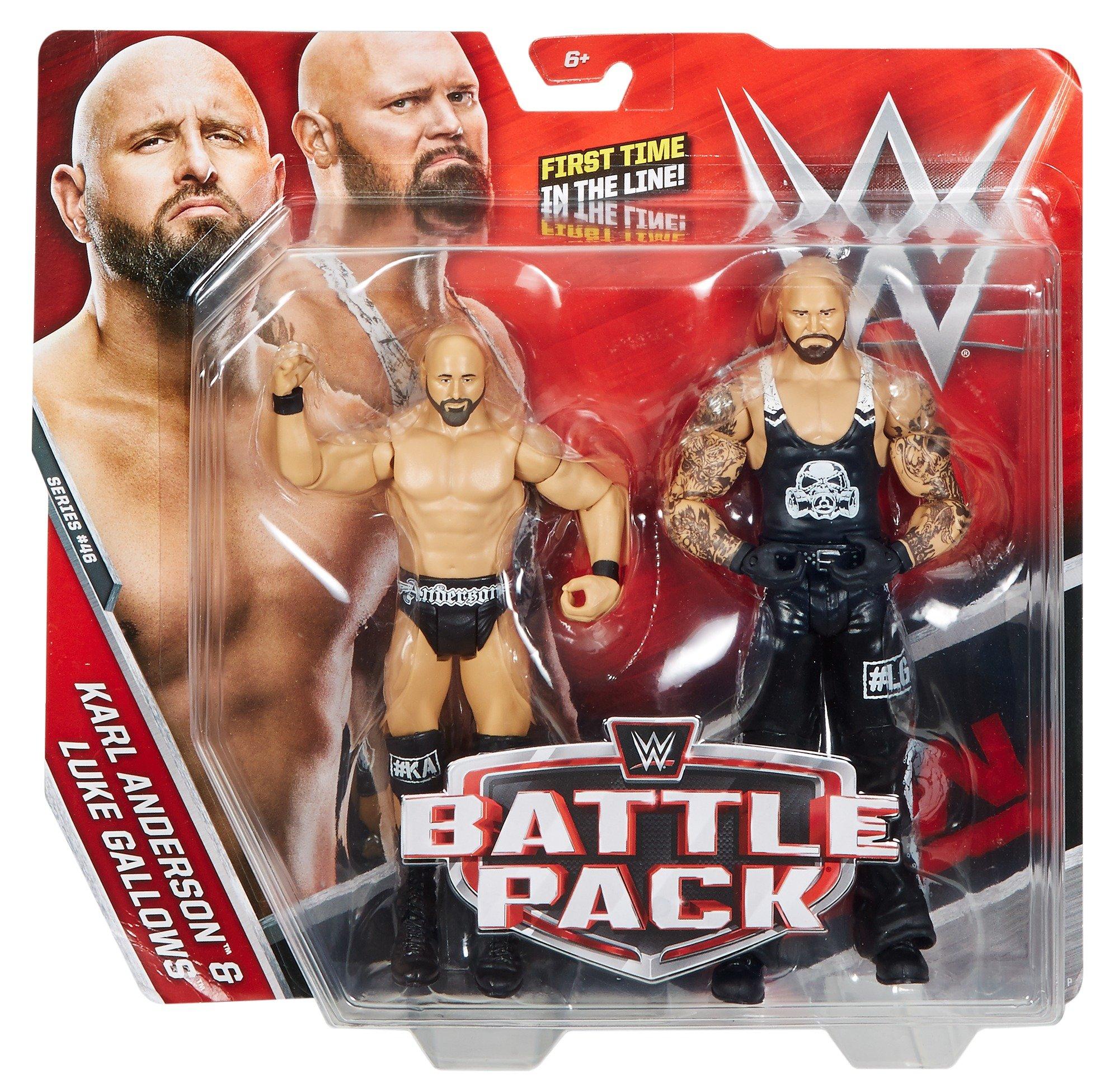 WWE Battle Pack Karl Anderson & Luke Horca Figuras de Acción: Amazon.es: Juguetes y juegos