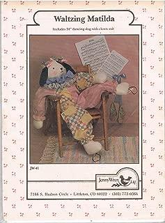 Waltzing Matilda Dancing Dog Sewing Pattern