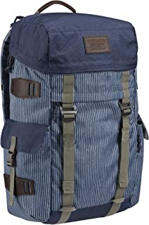 "Burton Snowboards Unisex Annex Pack Luggage, Open Road Stripe, Dimensions: 20"" x 10.5"" x 7"", Volume: 28L, Durably Constructed"