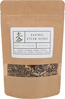 Yoni Steaming Herbs (2-3 Steams) | Cleanse, Tone, Rejuvenate | Formulated by Certified Practitioner | 100% Organic Vaginal Steam, V-Steam, Yoni Steam Herbs | V Steam Kit | Sold By Wildflower Wellness