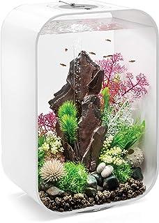 biOrb Life 15 Aquarium with LED Light - 4 Gallon, Black