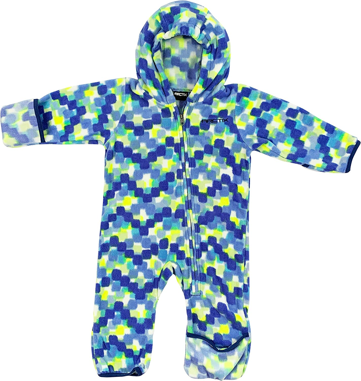 ARCTIX unisex-baby Snowflake Bunting Suit fleece-outerwear-jackets