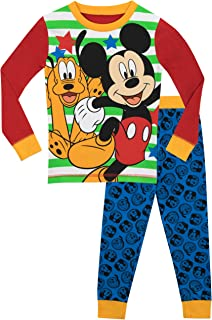 0974a30537 Amazon.com  Mickey Mouse - Pajama Sets   Sleepwear   Robes  Clothing ...