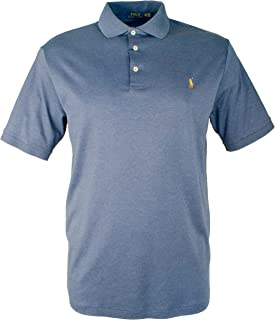 c80e9b1bf3c6f RALPH LAUREN Big and Tall Soft-touch Pima Cotton Polo Shirt Classic-Fit
