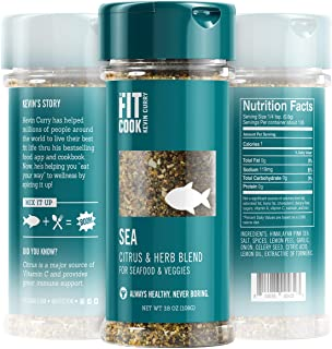 The Fit Cook Sea Spice and Seasoning Blend: Citrus & Herb Health-conscious Hand-Crafted Seasoning - Gluten & Grain Free, V...