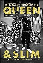 Queen & Slim Movie Poster Glossy High Quality Print Photo Wall Art Daniel Kaluuya, Jodie Turner-Smith Size 11x17#1