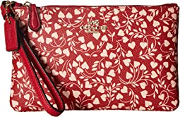 COACH - Small Wristlet with Love Leaf