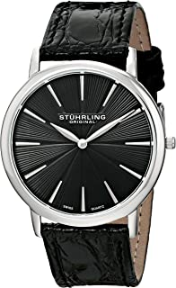 Men's 682.02 Orchestra Swiss Quartz Ultra Slim Black Watch