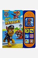 Paw Patrol Ready Set Rescue Sound Book (Play-A-Sound) Board book