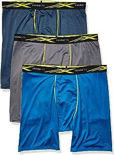 Men's X-Temp 4-Way Stretch Mesh Long Leg Boxer Brief...