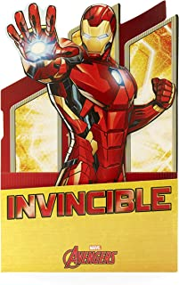 Disney Marvel Avengers Birthday Boy Card - Iron Man Pop-Out Card