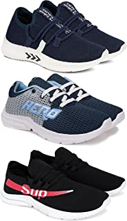 Camfoot Kids & Boys (1661-9267-9301) Multicolor Casual Stylish Sneakers Shoes (Set of 3 Pair)