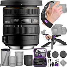 Sigma 10-20mm f/3.5 EX DC HSM ELD SLD Wide-Angle Lens for Canon DSLR Cameras with Altura Photo Essential Accessory Bundle
