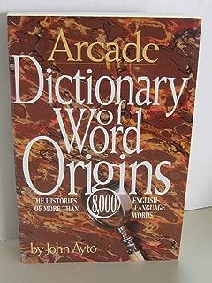 Best arcade word origin Reviews